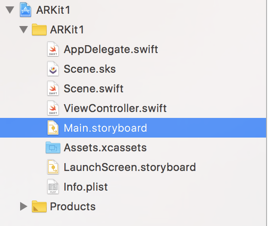 ARKit AllCode Project Components
