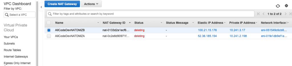 AWS billing issues Oregon west
