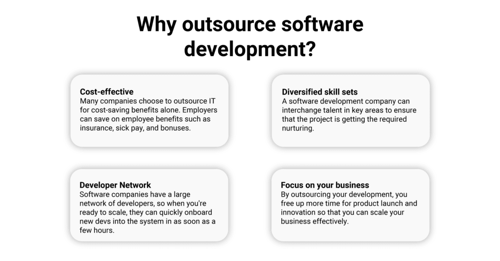 Why outsource software development?