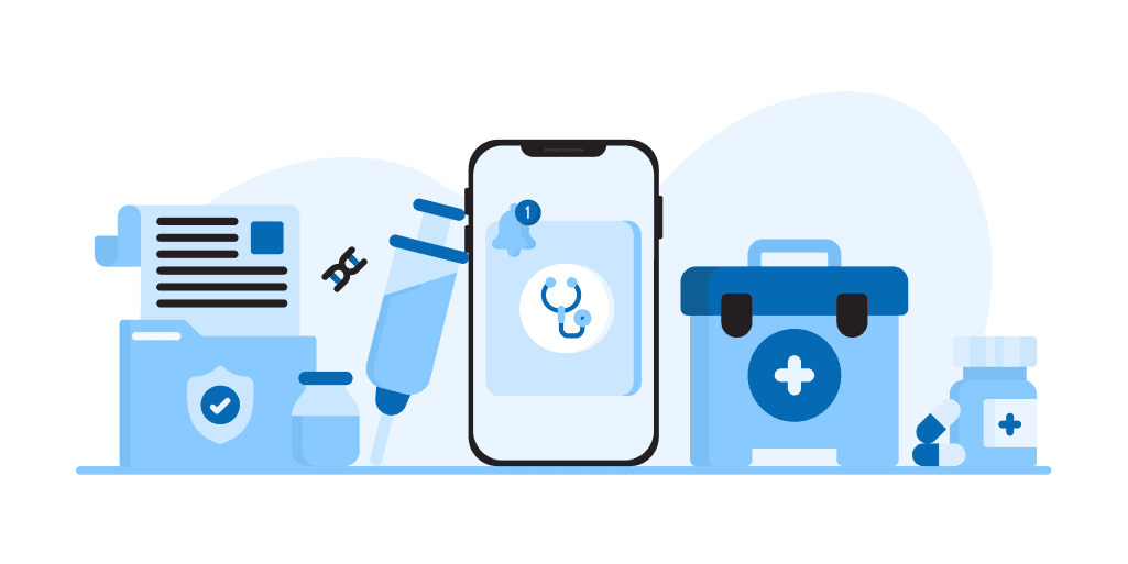 SMS for healthcare